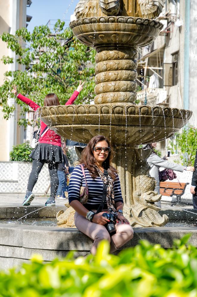 Fountain in Largo de Senado