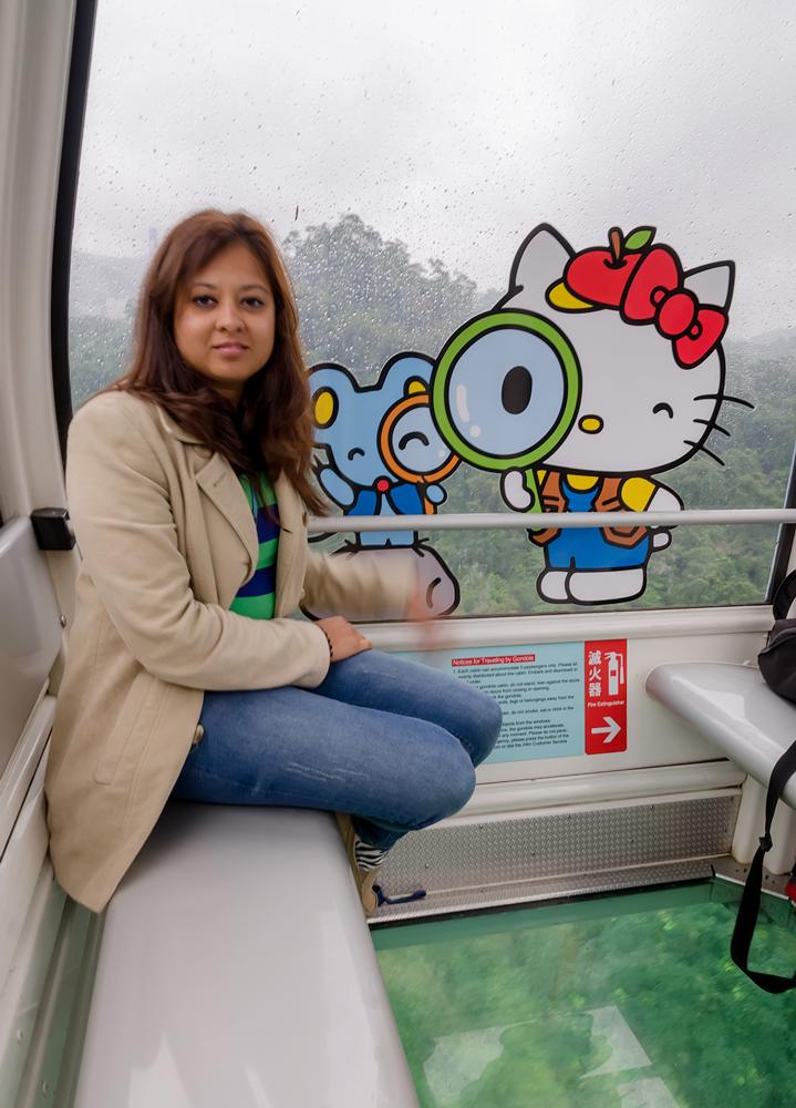 The Crystal Cabin on the MaoKong Gondola