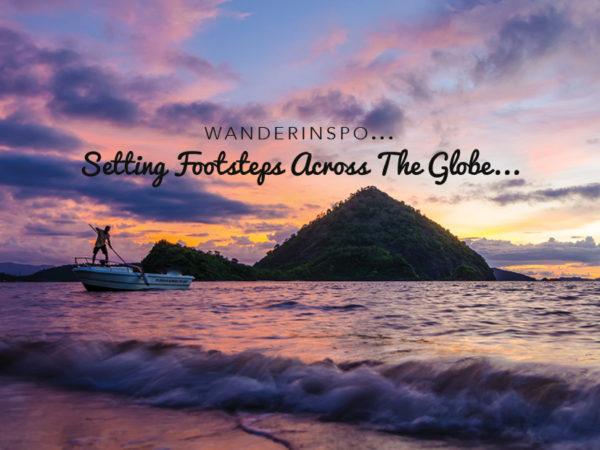 WanderInspo…Setting Footsteps Across The Globe…