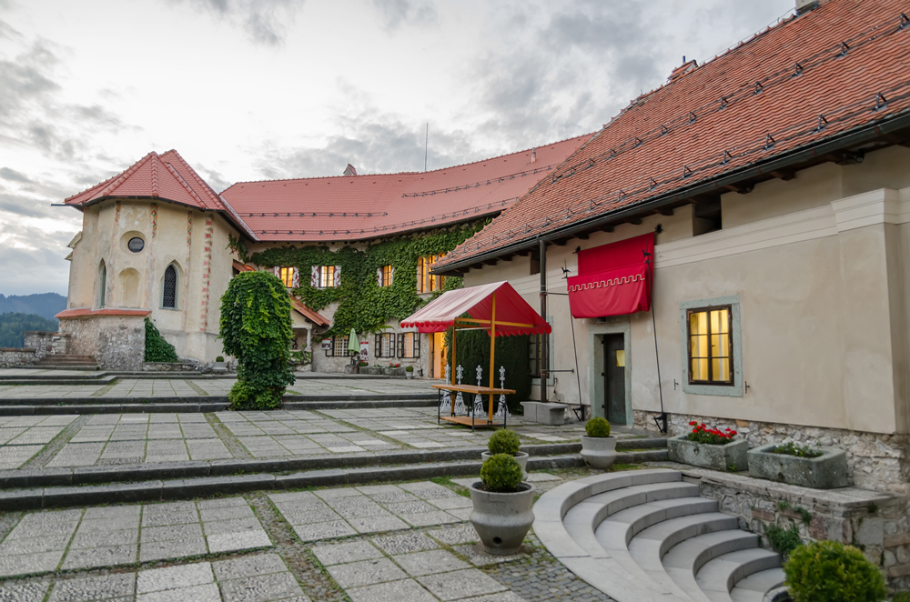 Terrace at Bled Castle