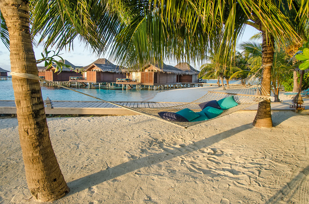 The idyllic Maldives