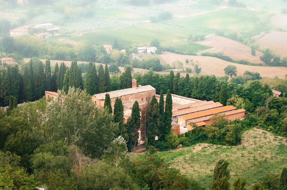 This stunning Tuscan countryside