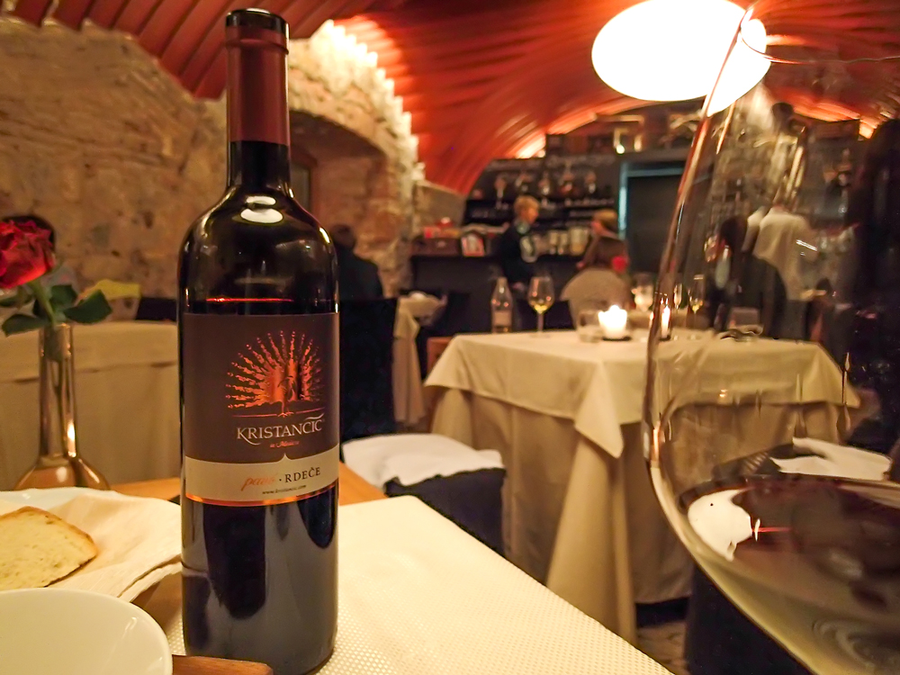 Wining and Dining at Gostilna na Gradu