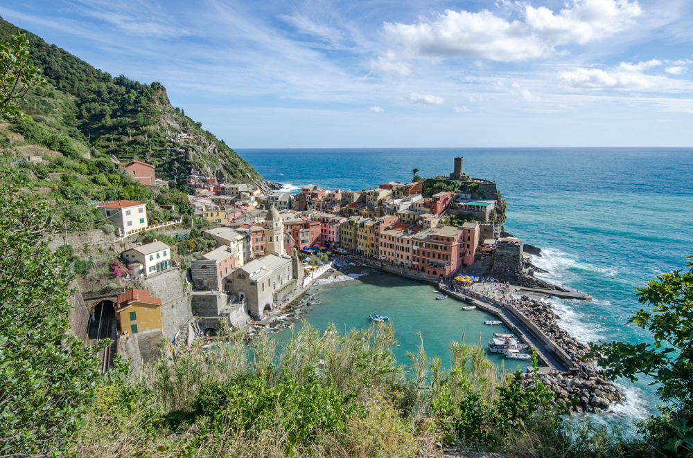 My postcard picture shot of Vernazza