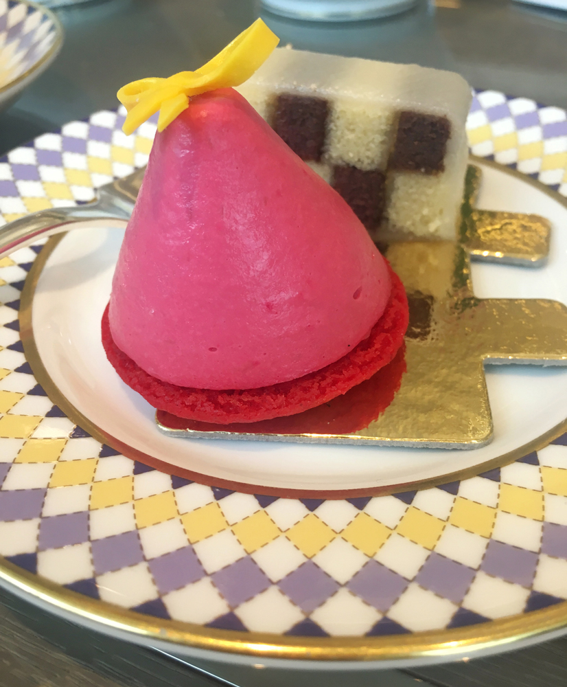 Battenburg Cake and Gucci Mousse