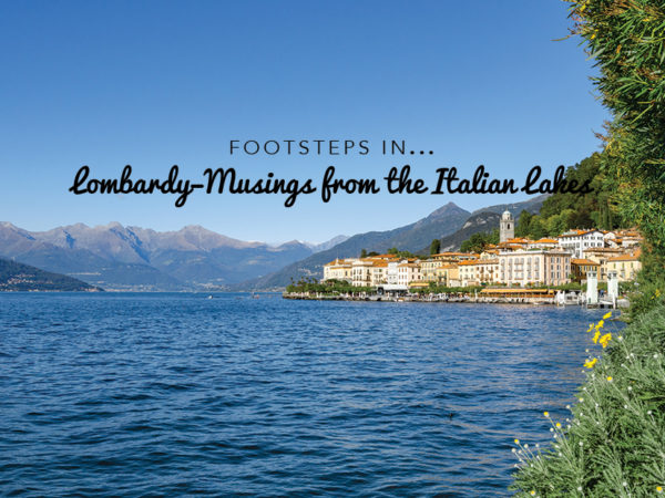 Footsteps in Lombardy