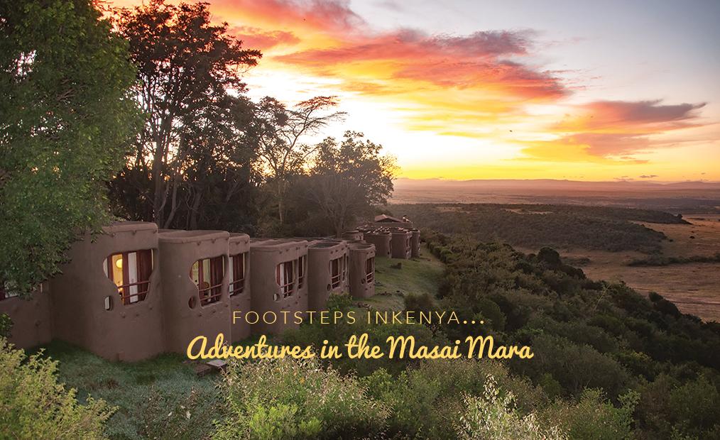 Footsteps in Kenya…Adventures in the Masai Mara