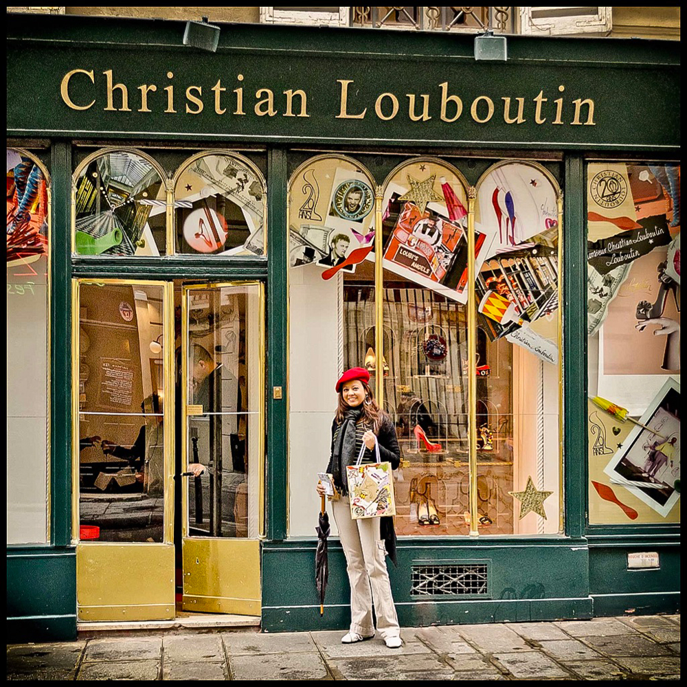 Christian Louboutin on Rue St Honore