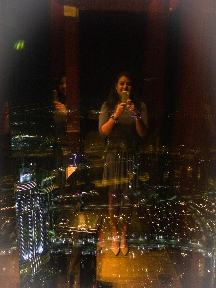 Dining at At.Mosphere, Burj al Khalifa, Dubai