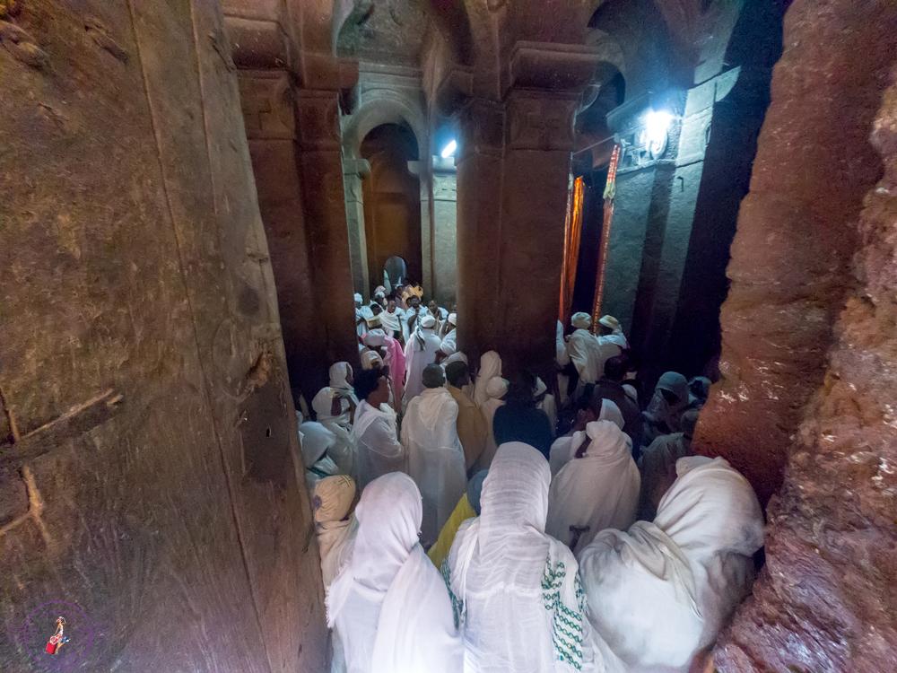 Inside Debre Sina Mikael