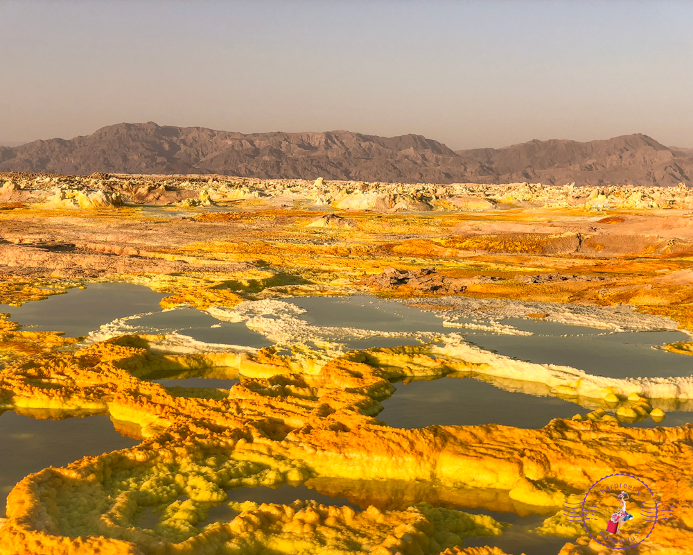 Surreal landscapes - sulphur lakes of DallolSurreal landscapes - sulphur lakes of Dallol