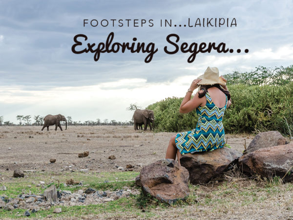 Footsteps in Laikipia...Exploring Segera