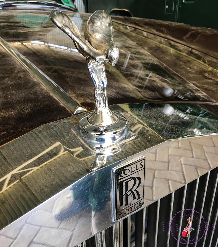 Rolls Royce - one of the memorabilia at Segera