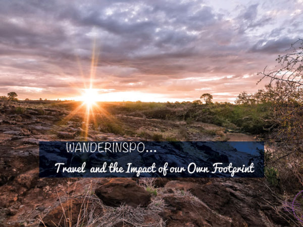 Travel and the Impact of our Own Footprint