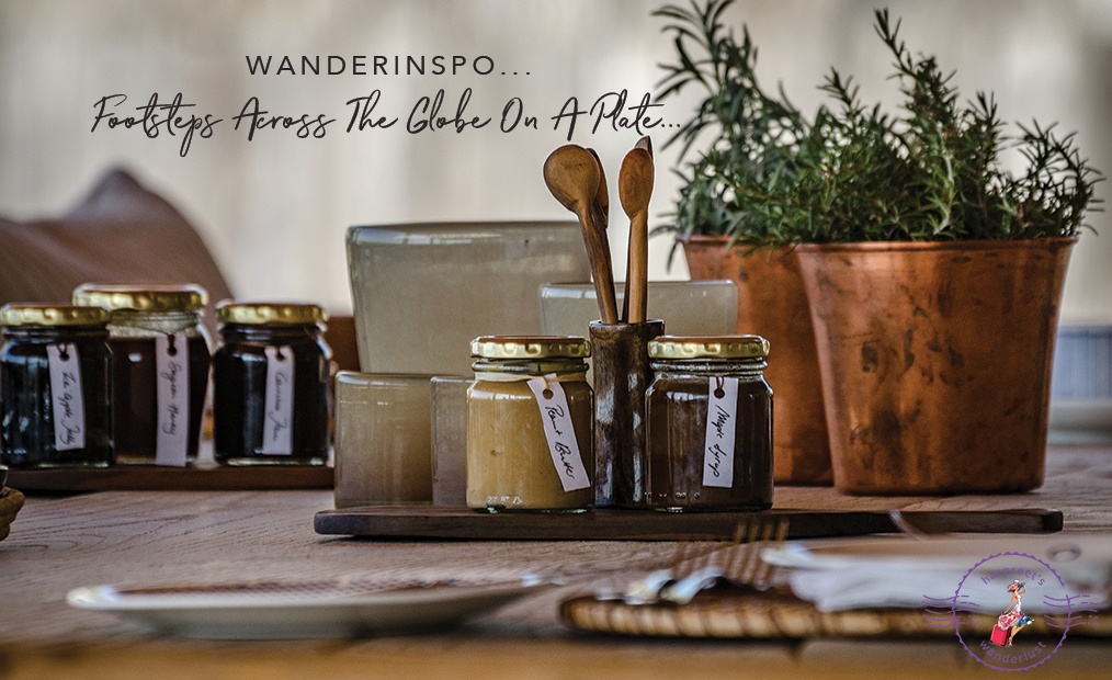 WanderInspo…Reminiscing about Footsteps Across The Globe On A Plate…