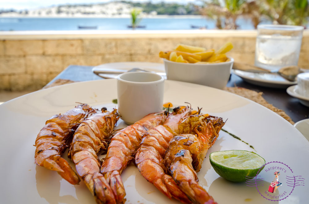 Juicy Prawns in Lamu