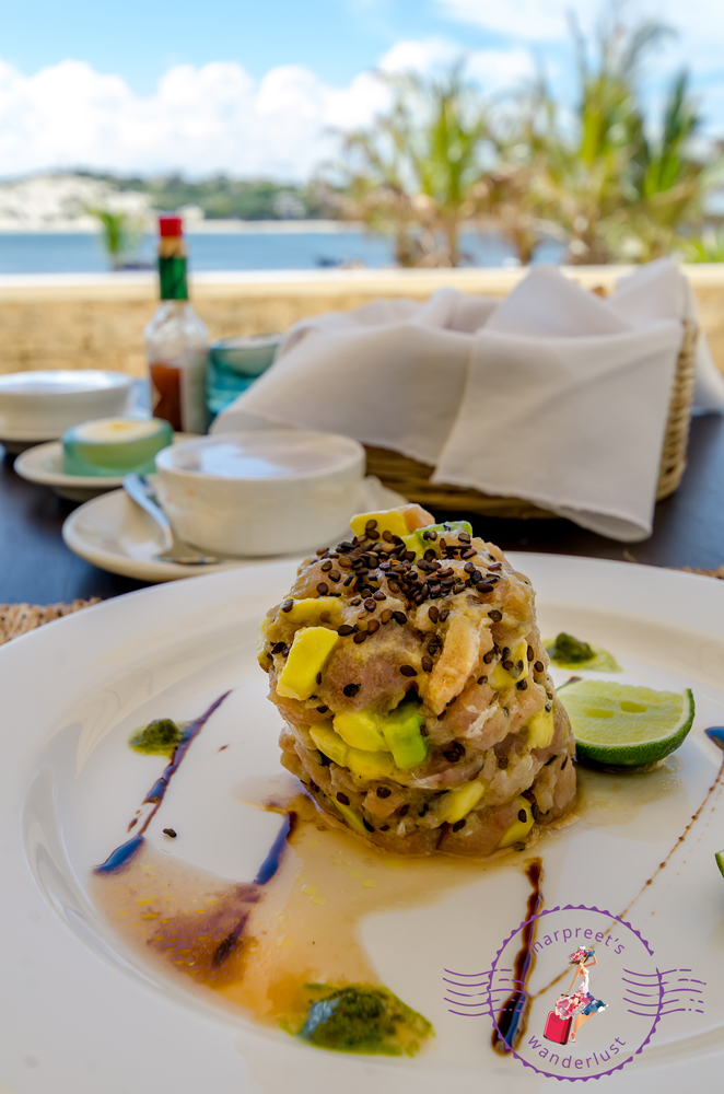 Tuna Tartare in Lamu