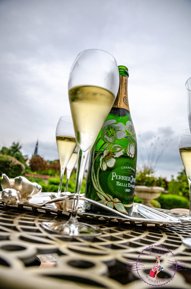 A bottle of Belle-Epoque