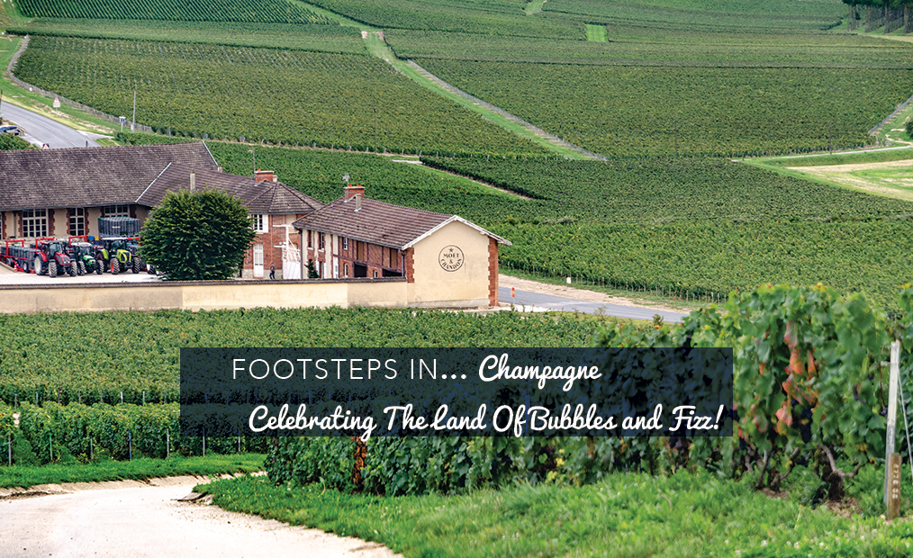 Footsteps in Champagne…Celebrating The Land of Bubbles and Fizz!