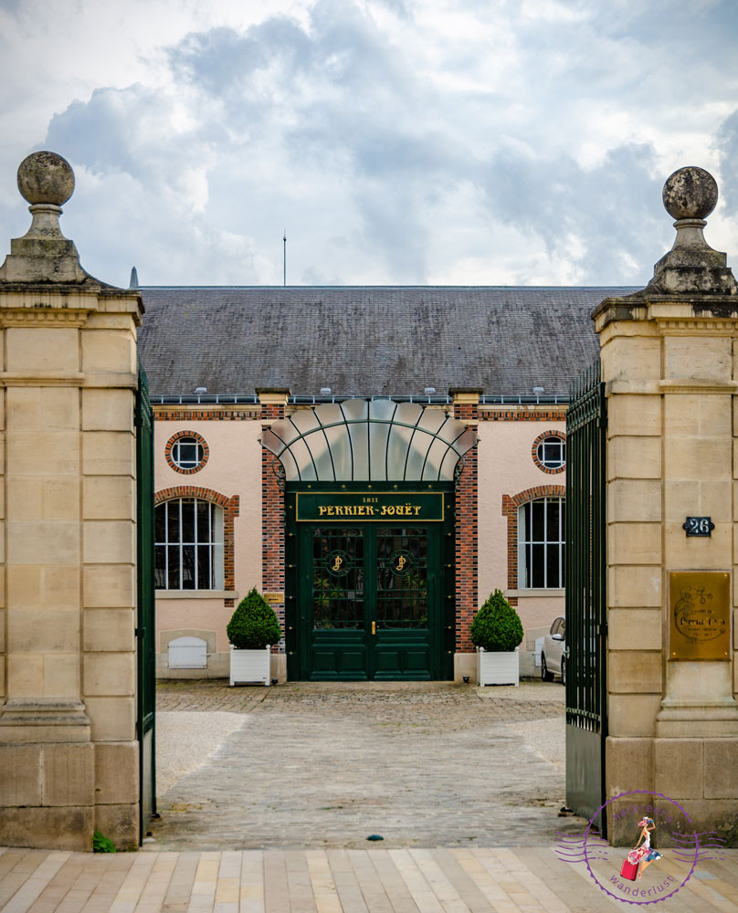 The Iron Gates of Maison Perrier- Jouët