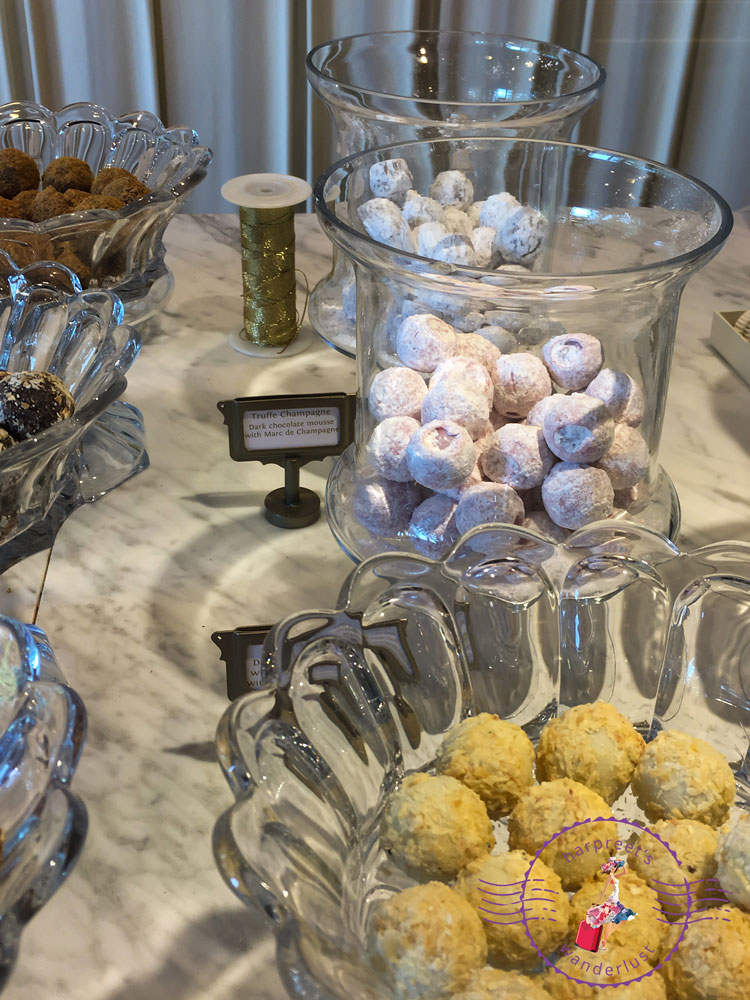 The Champagne Truffles at Mary