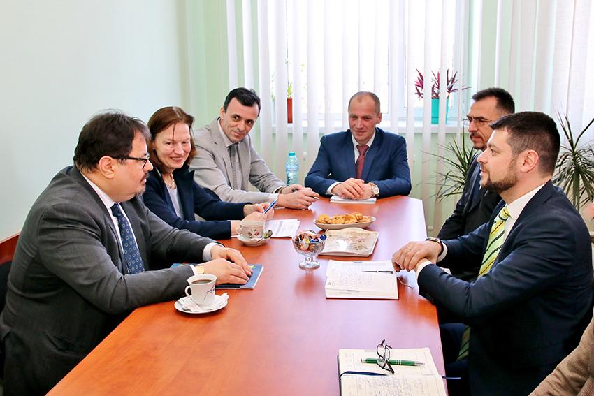 Vizită a doi oficiali europeni  în orașul Leova