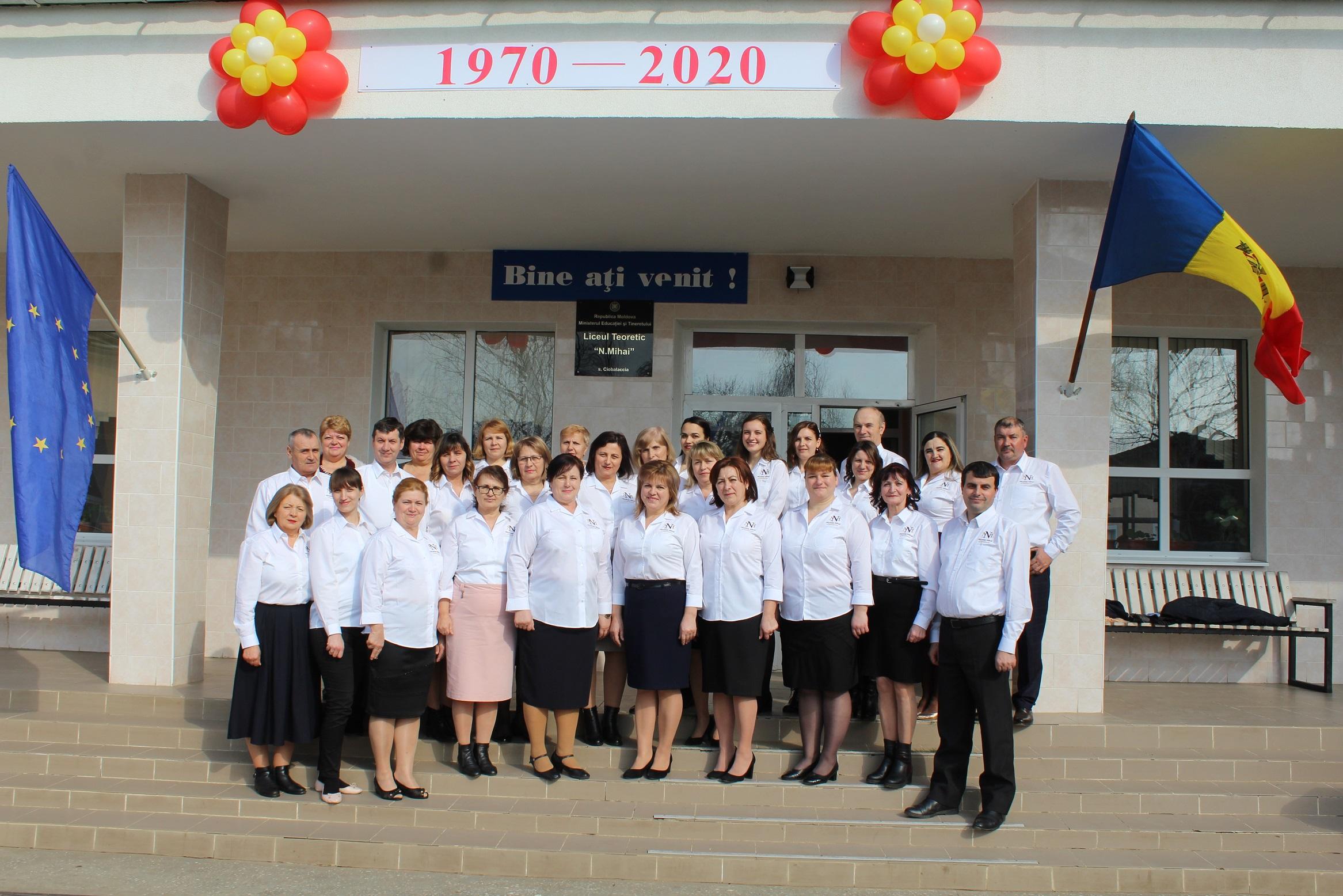 Un semicentenar de activitate a școlii  din Ciobalaccia, Cantemir