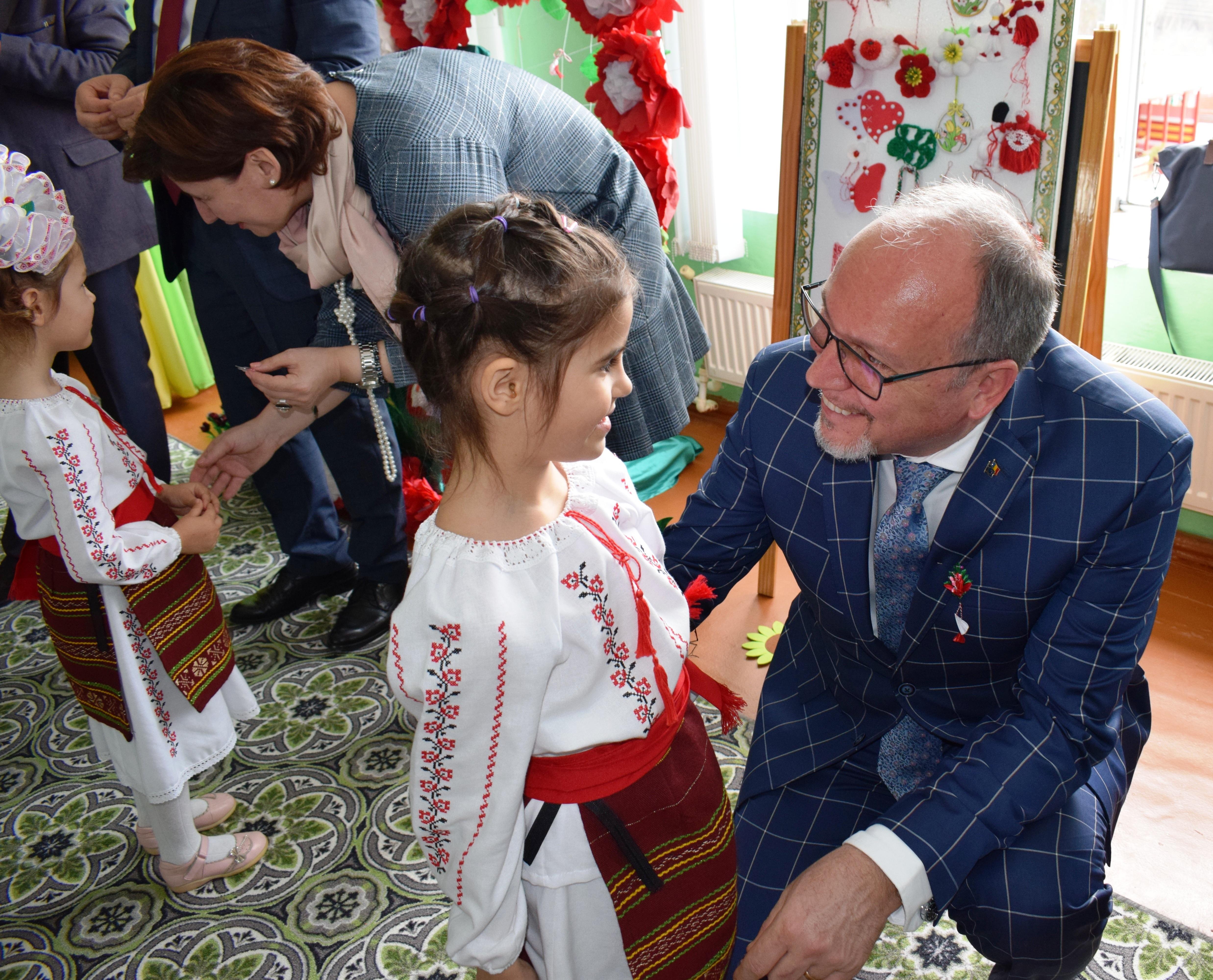 Două grădinițe din Colibași, Cahul,  au fost renovate cu bani românești