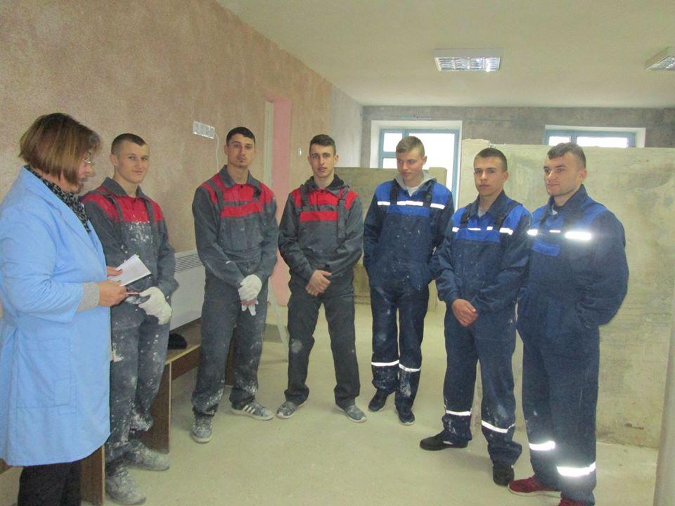 Concursuri ale elevilor de la școala profesională din orașul Leova