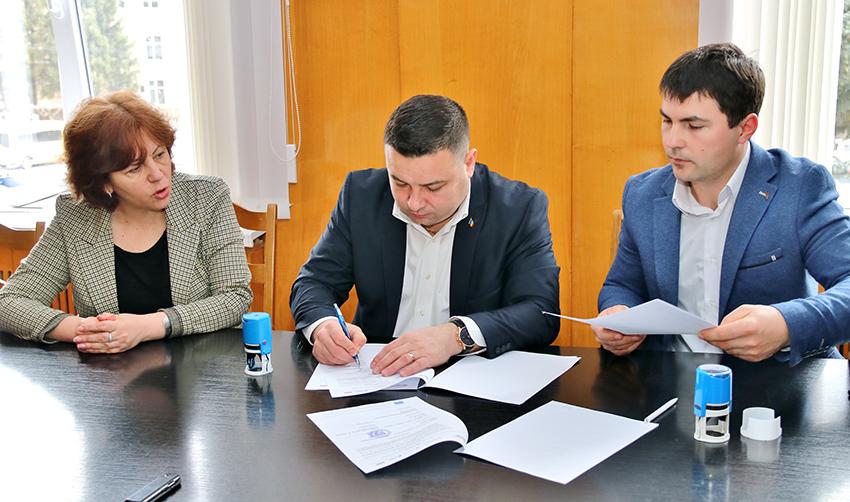 Semnarea, la Cimișlia, a unui Memorandum