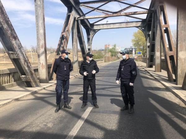 Inspectarea punctului de trecere  a frontierei Giurgiulești-Galați