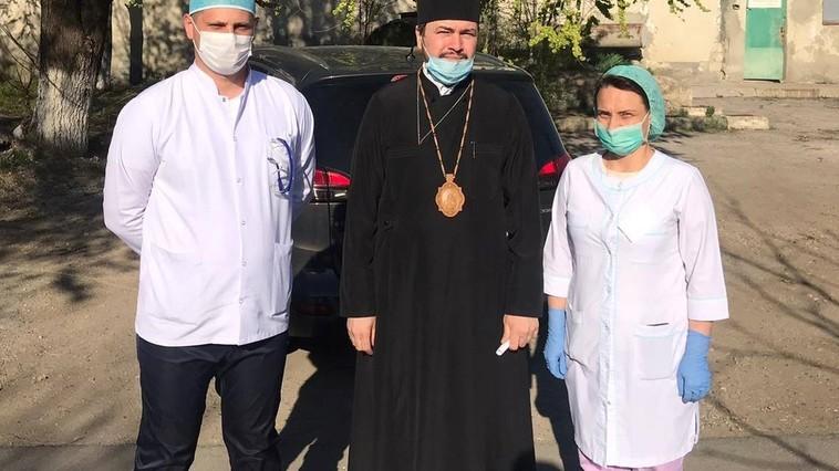 Episcopia Basarabiei de Sud ajută spitalele din orașele Căușeni și Ștefan Vodă