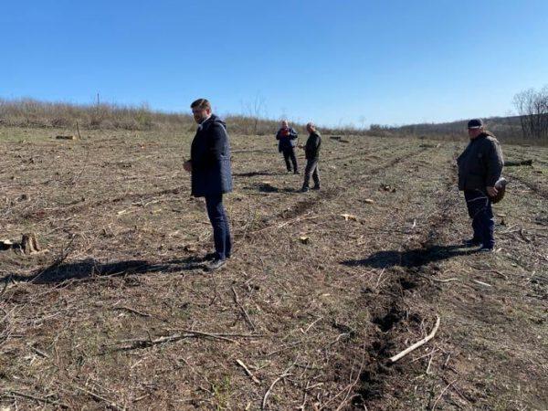 Vizită de inspectare la ocolul silvic Zloți din raionul Cimișlia