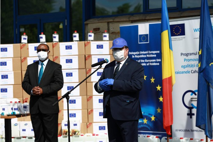 Asistență europeană în prevenirea violenței pentru raioanele Cahul și  Ungheni