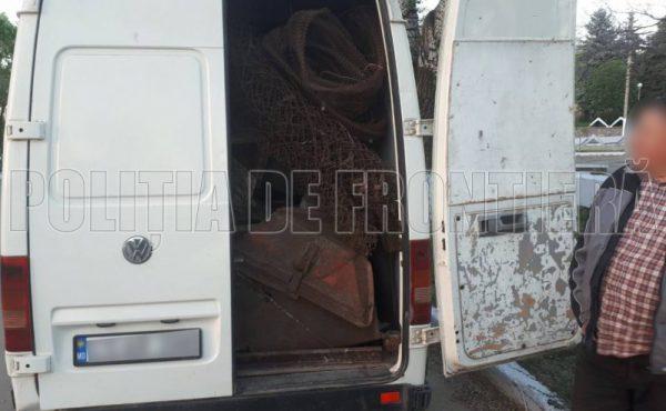 Metal uzat, transportat ilegal de un locuitor din Zaim, raionul Căușeni