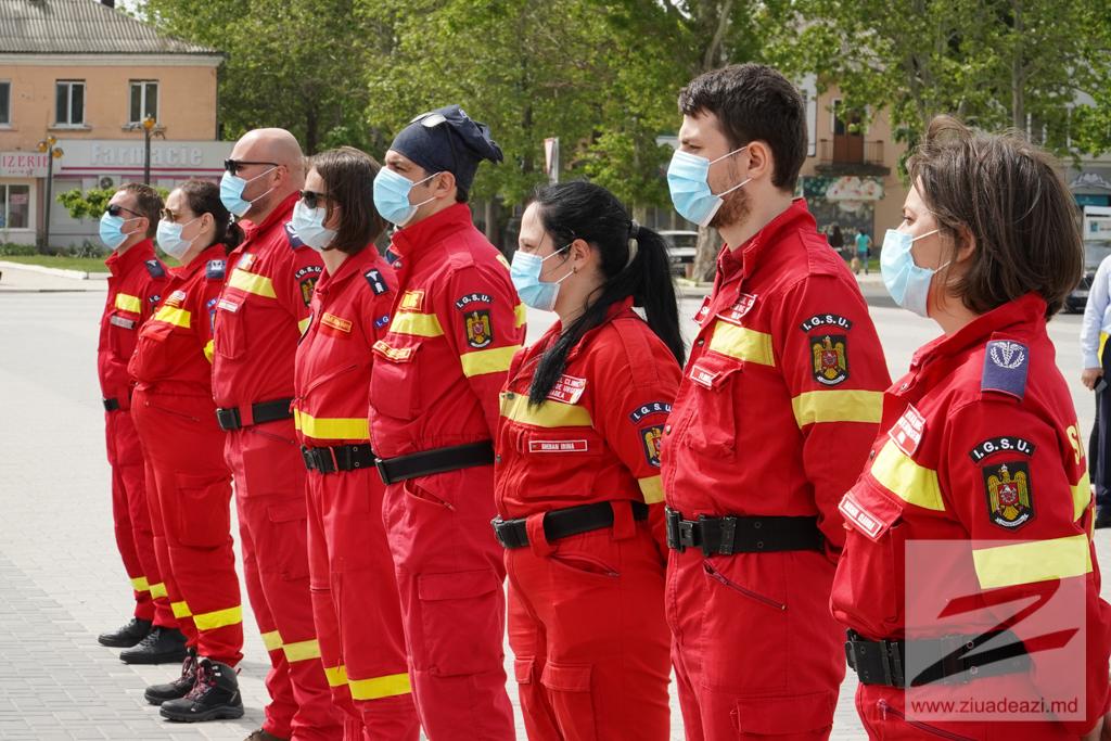 Lucrătorii medicali din România care au activat la Cahul au plecat acasă