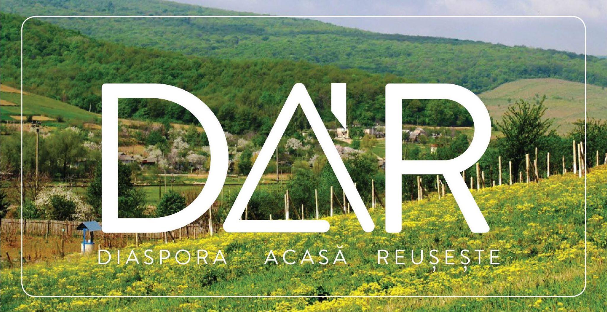 """Proiectele câștigătoare în cadrul Programului """"Diaspora Acasă Reușește"""" DAR 1+3"""