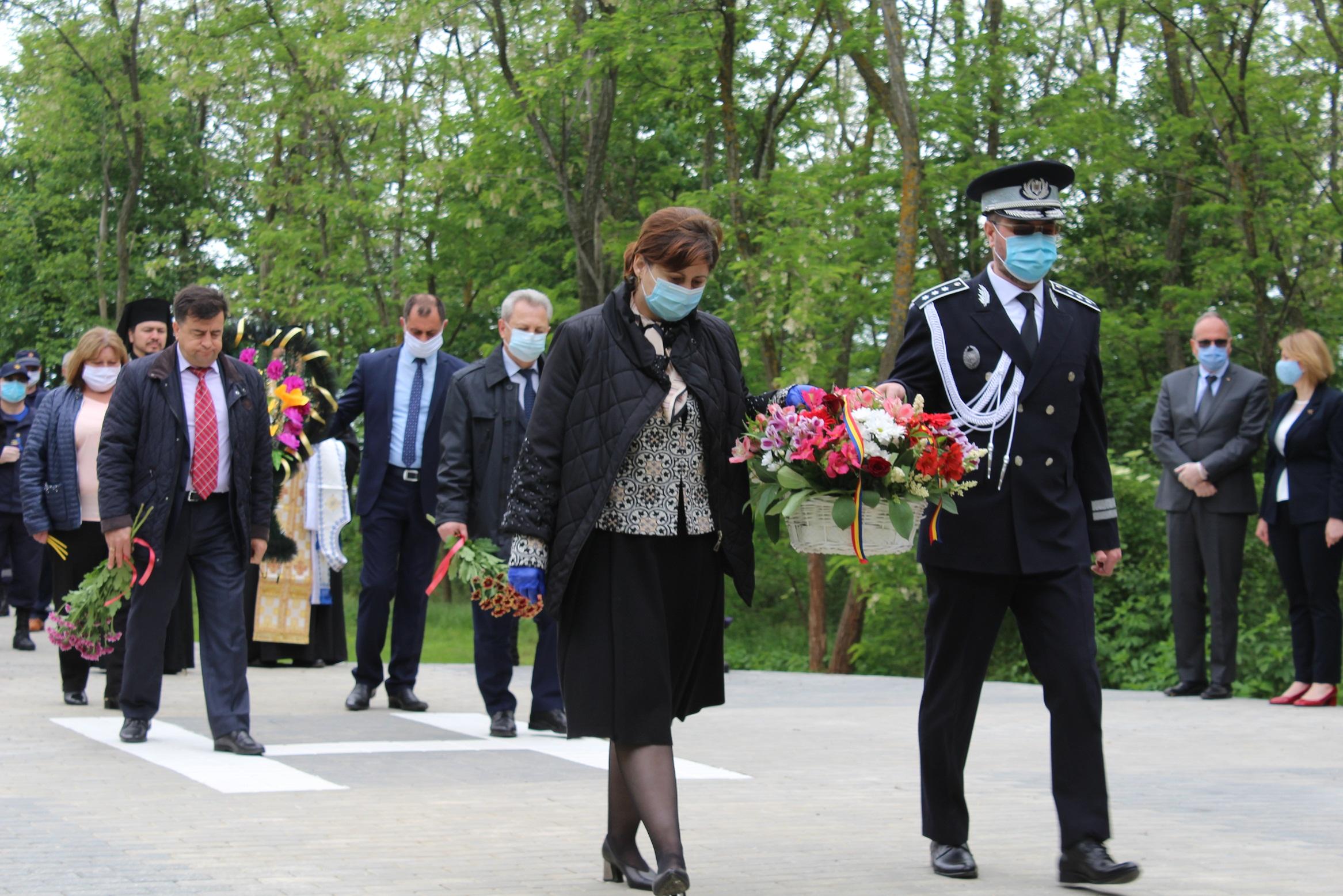 Comemorarea eroilor SMURD  la Haragâș, Cantemir