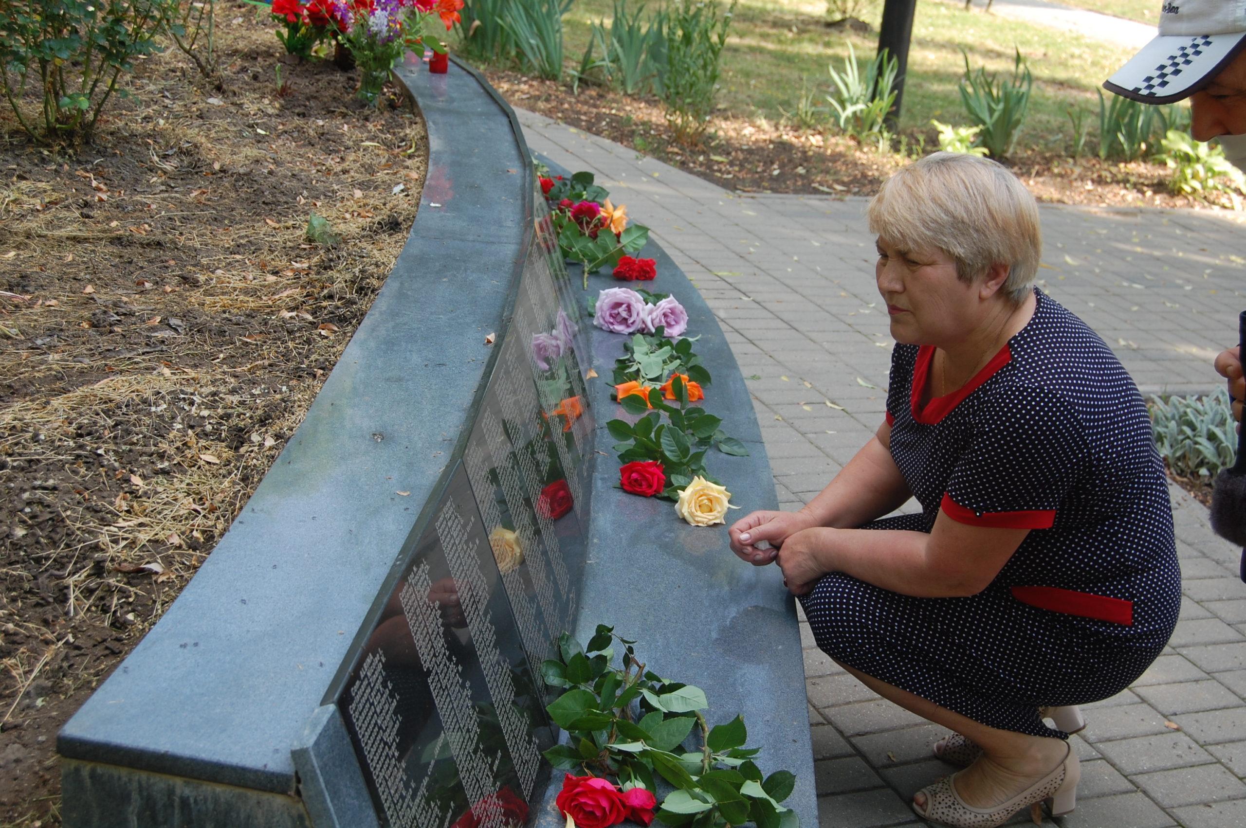 Veșnic vie, memoria persoanelor deportate
