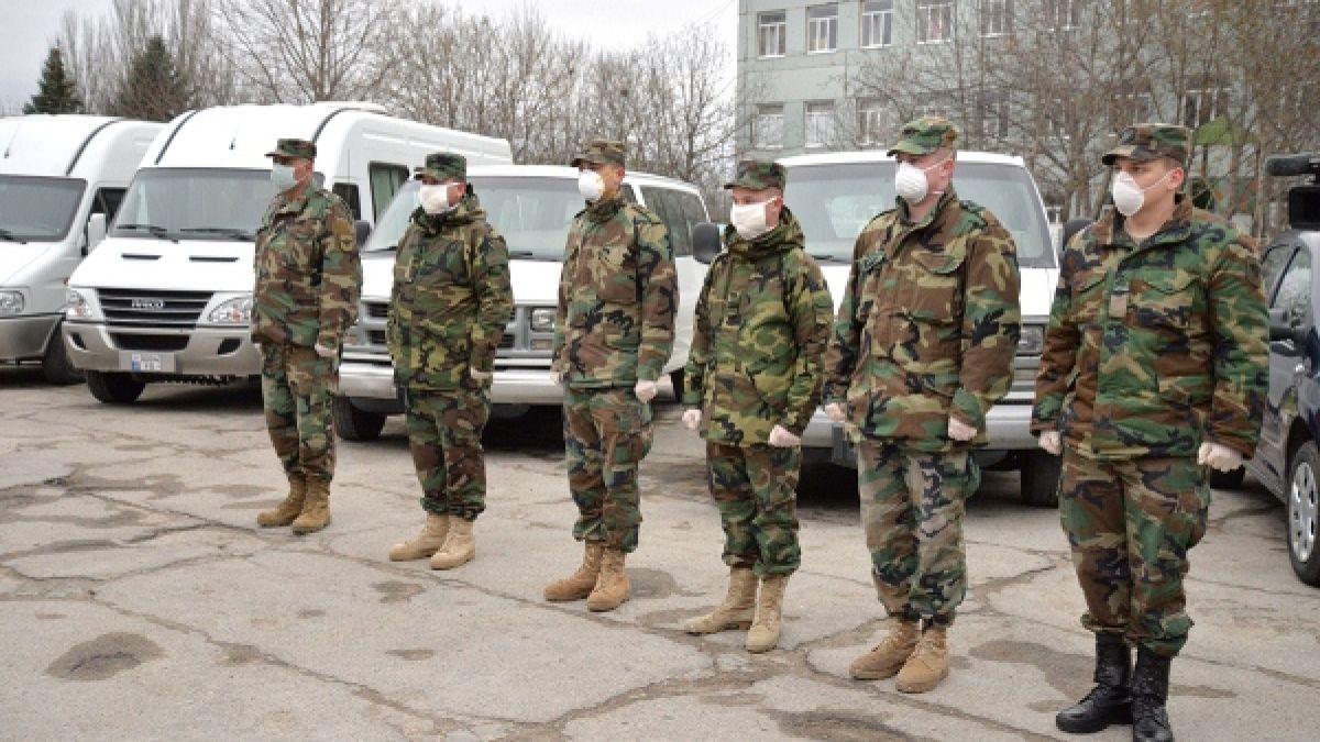 """Raionul Căușeni și-a dat """"cota""""  de tineri pentru Armata Națională"""