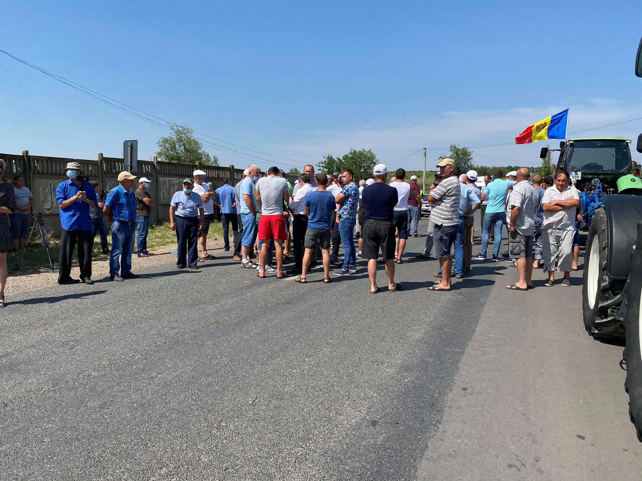 Fermieri din raioanele Ștefan Vodă și Căușeni au recurs la gesturi disperate