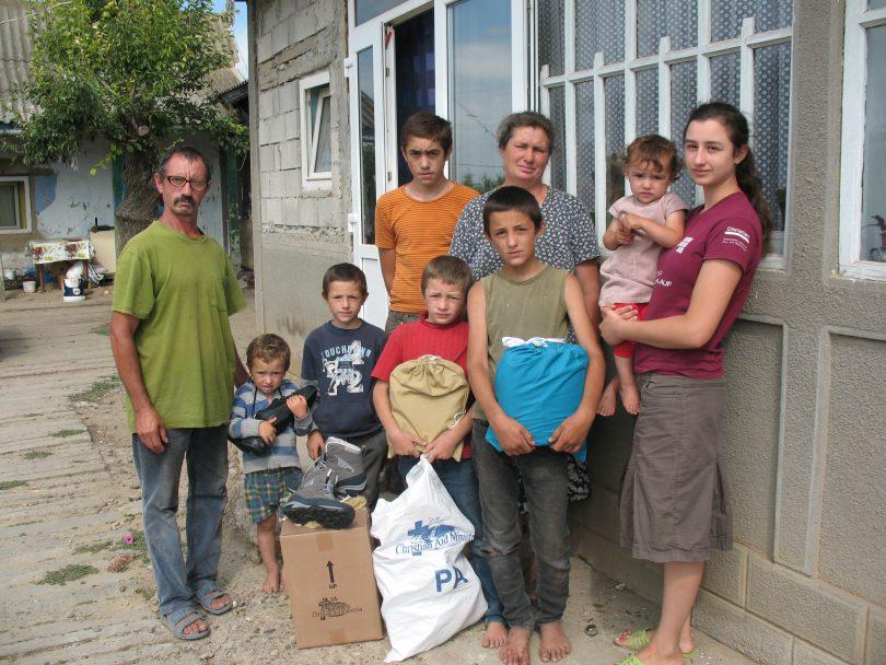 """O rază de lumină sufletească adusă de  AO """"Christian Aid Ministries"""" de la Chișinău"""