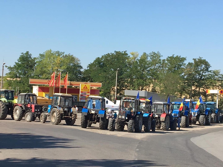 Protest fermierilor și la Cimișlia