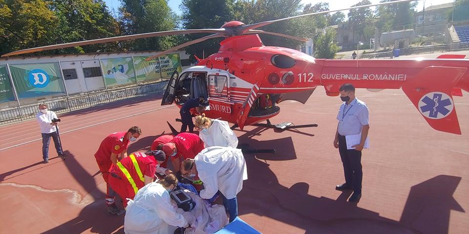 SMURD Galați a acordat ajutor unui pacient de la Comrat