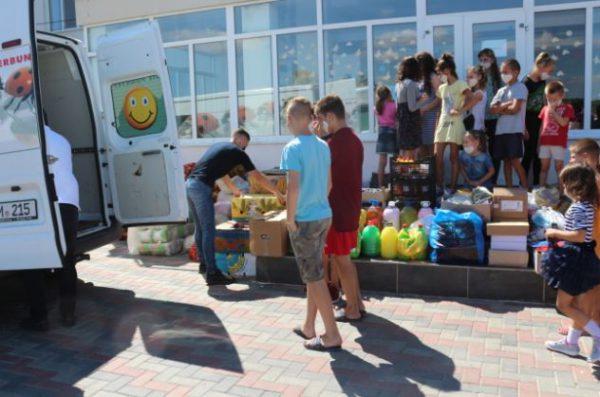 Bucurii pentru copiii de la Centrul de plasament din Cupcui, raionul Leova