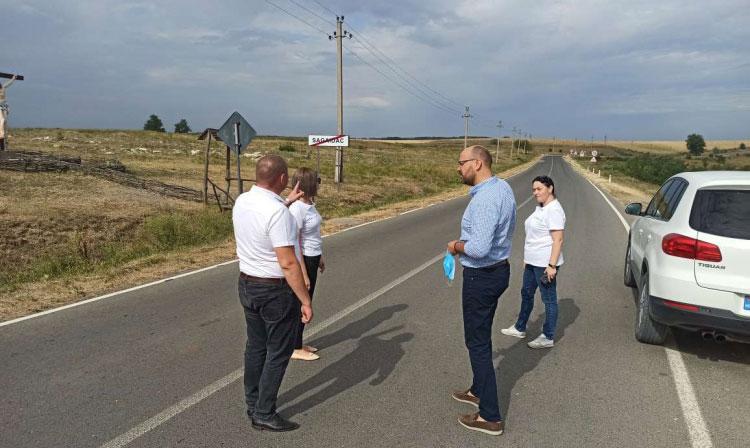 Circa 15 mii de locuitori ai raionului Cimișlia ajung mai ușor la drumul național M3
