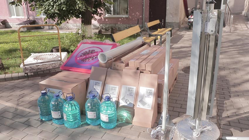 Utilaje și consumabile donate Spitalului Raional Cimișlia
