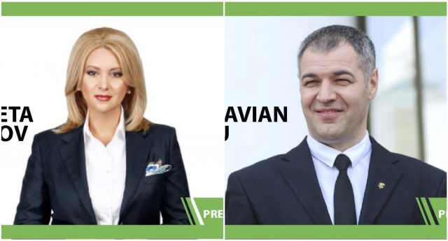 Octavian Țicu și Violeta Ivanov: au intrat înpolitică din partea unor partide, candidează la alegerile prezidențiale de la alte partide