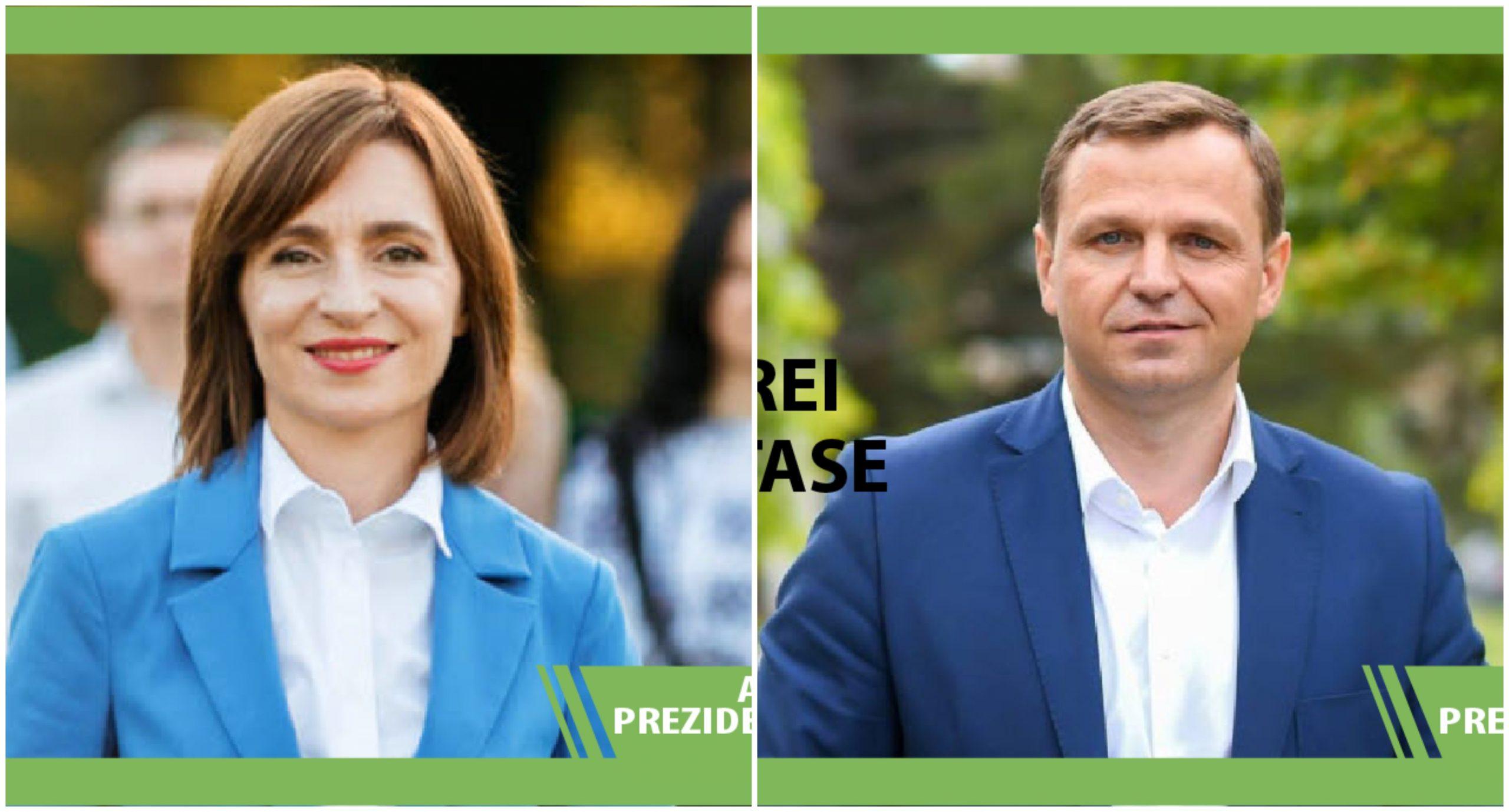 Maia Sandu și Andrei Năstase: la alegerile parlamentare aliați, la prezidențiale din această toamnă – contracandidați