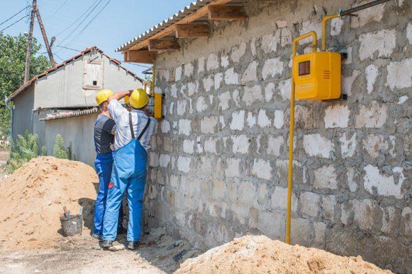 Extinderea rețelelor de distribuție a gazelor în două localități din raionul Leova